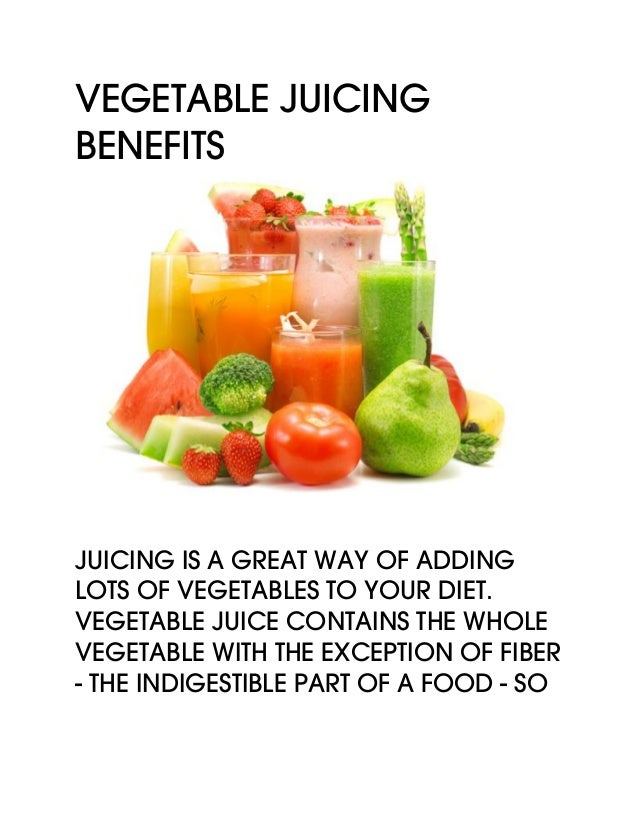 Vegetable Benefits
