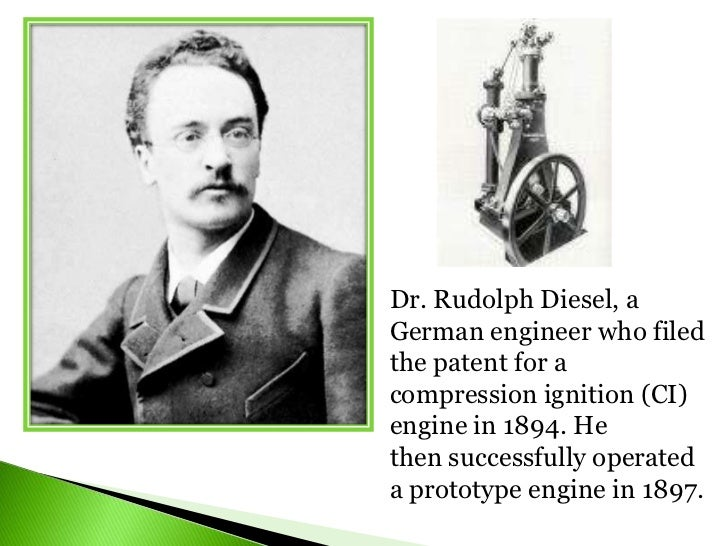 A history lesson on Rudolf Diesel, creator of the diesel engine