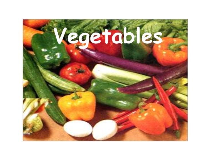 Vegetables<br />