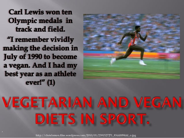 Vegetarian and vegan diets in sport