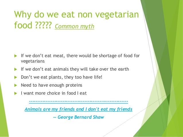 A good Argument essay that involves vegetarians?