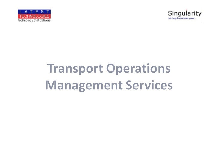 Vehicle tracking solution - an over view
