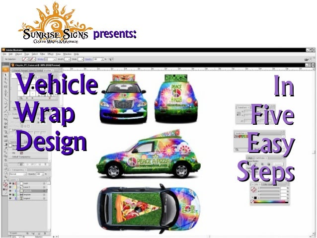 VehicleVehicle WrapWrap DesignDesign InIn FiveFive EasyEasy StepsSteps presentspresents::