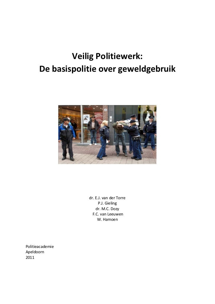 Veilig politiewerk website 10-2011
