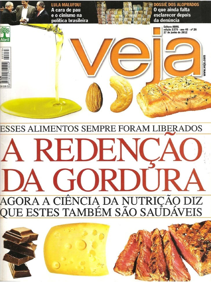 A Redenção da Gordura (Revista VEJA)