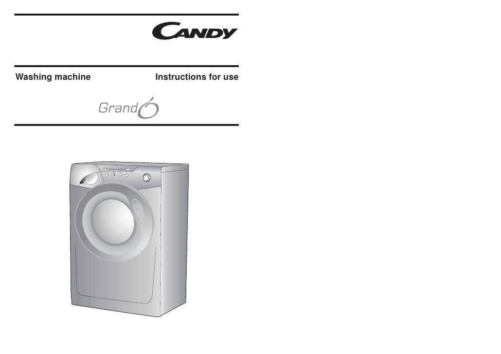 Washing machine   Instructions for use