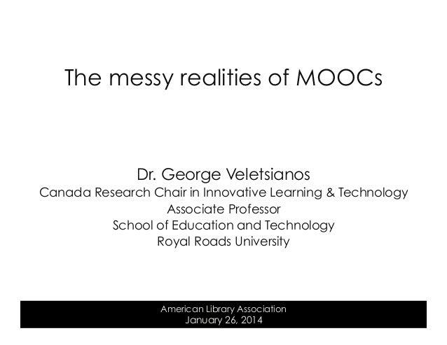 The messy realities of MOOCs