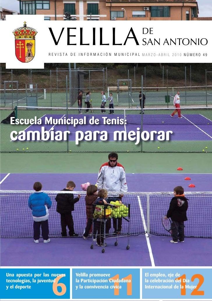 Velilla de san antonio revista de informacion municipal - Inmobiliaria velilla de san antonio ...