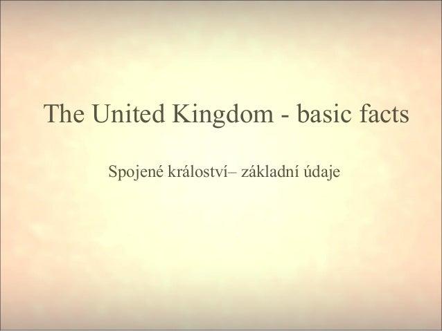 Velká Británie - základní údaje