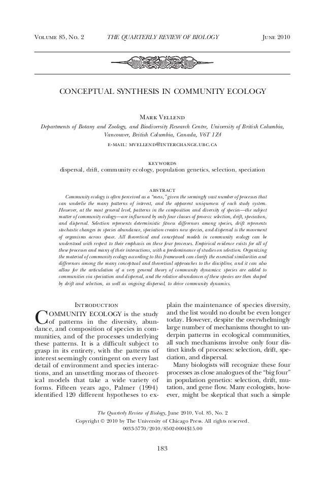 Vellend community ecology_qrb2010[1]-1