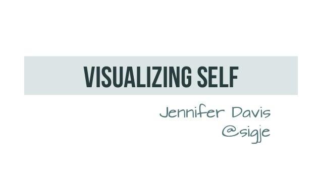 Visualizing SELFJennifer Davis@sigje