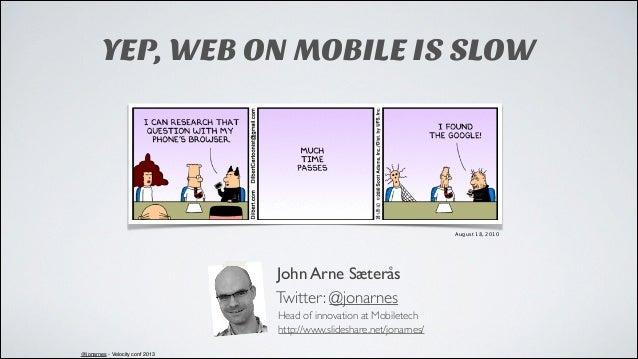 Velocity EU: Give Responsive Design a Mobile Performance Boost