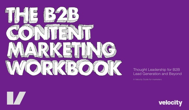 Thought Leadership for B2B Lead Generation and Beyond A Velocity Guide for marketers