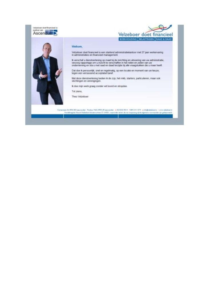 TGJ Communicatie Velzeboer doet financieel realisatie website