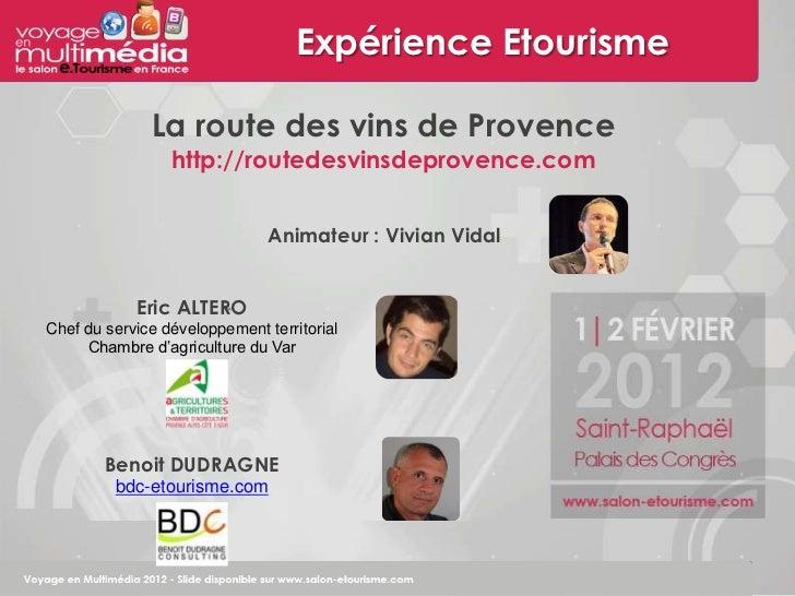 Vem3 atelier expérience route des vins