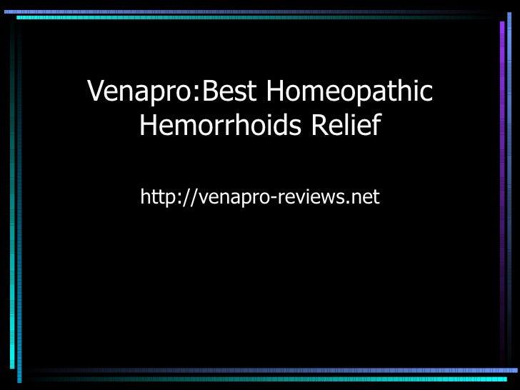 Venapro reviews