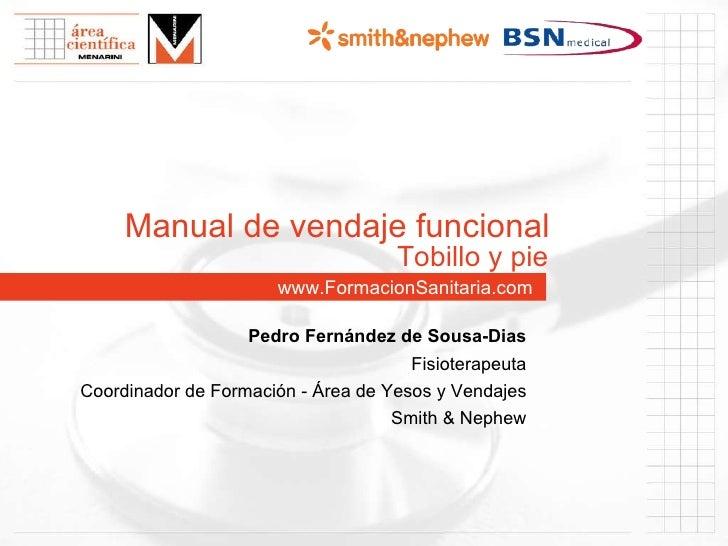 Pleurovac manual www formacionsanitaria com manual de vendaje