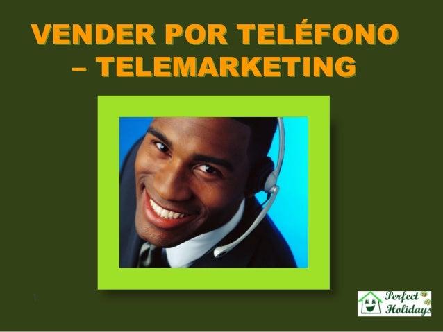 VENDER POR TELÉFONO  – TELEMARKETING1