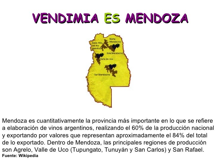 Vendimia Es Mendoza