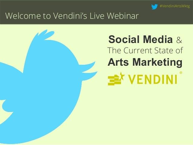 Social Media & The Current State of Arts Marketing | Live Webinar