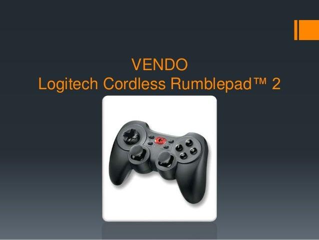VENDO Logitech Cordless Rumblepad™ 2