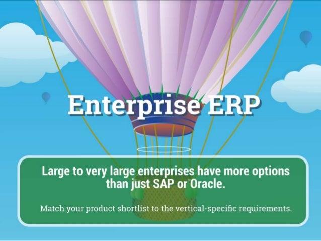 Vendor Landscape Enterprise ERP