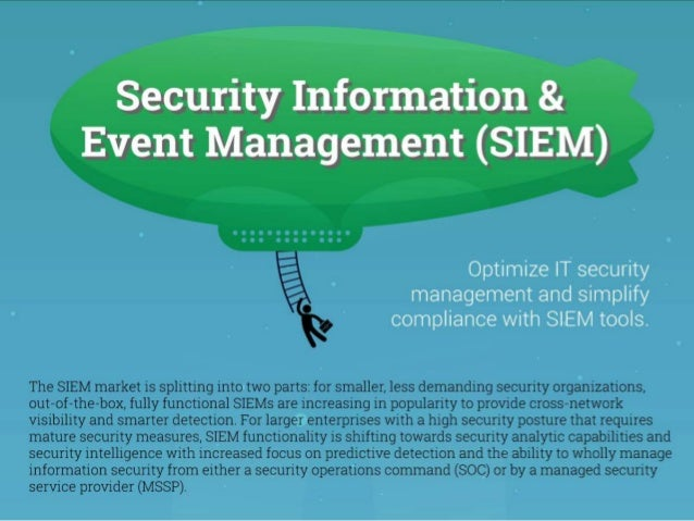 Vendor Landscape: Security Information and Event Management