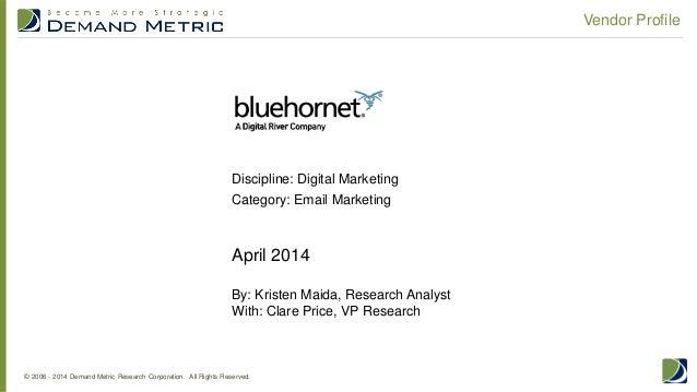 Vendor Profile: BlueHornet