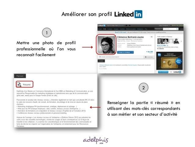 Vendretips  - Ameliorer son profil Linkedin