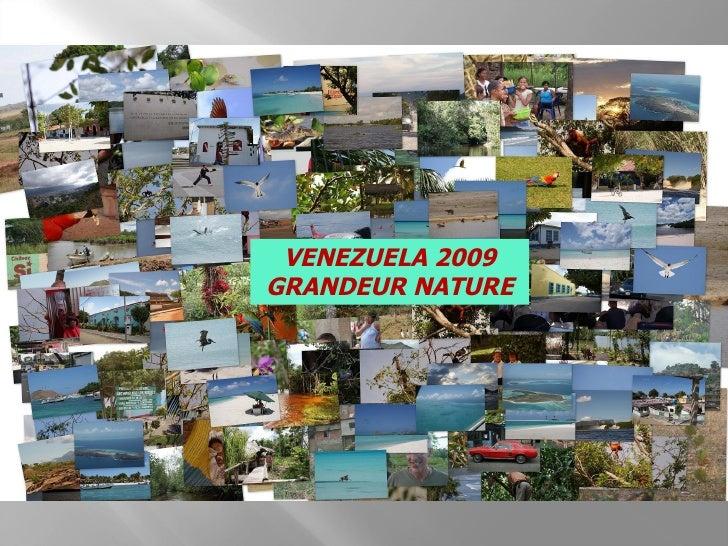 VENEZUELA 2009 GRANDEUR NATURE