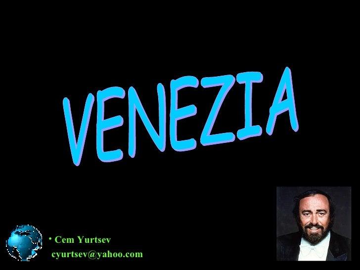 Veneza Com Pavarotti