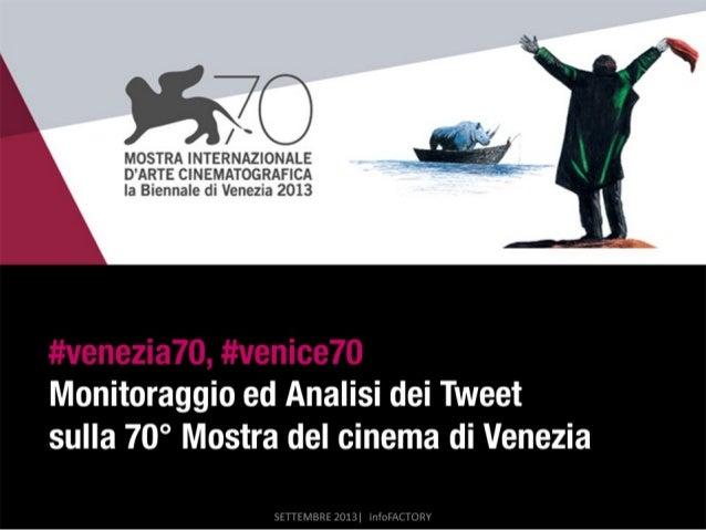 #Venezia70