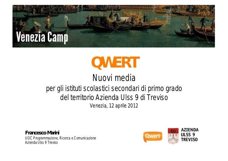 ProgettoQWERTVenicecamp2012
