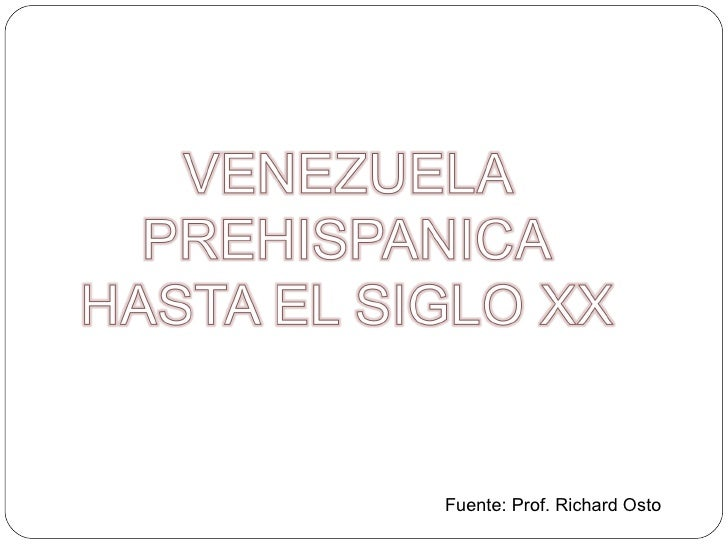 Venezuela Prehispanica