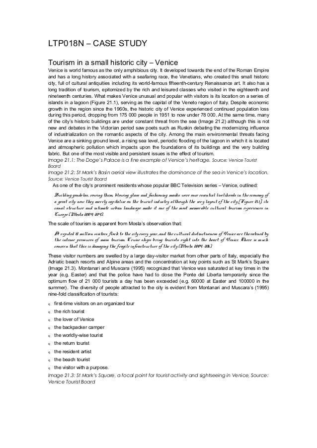 Venice case study - Information Sheet