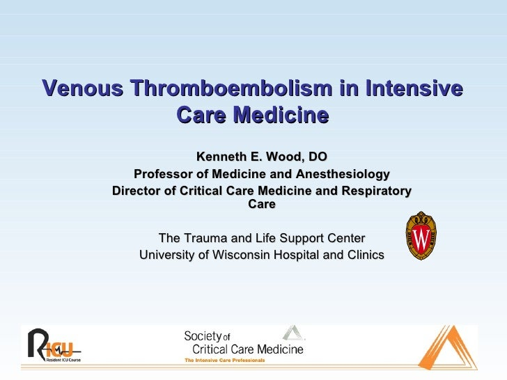 Venous Thromboembolism