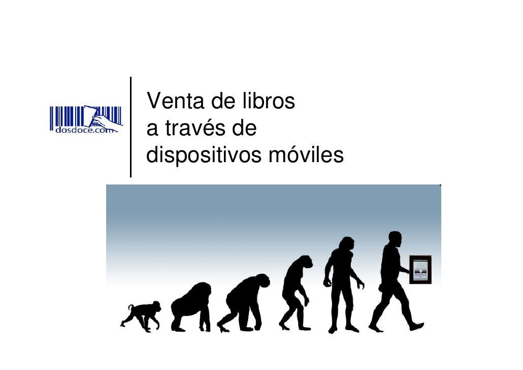 Venta de libros a través de móviles
