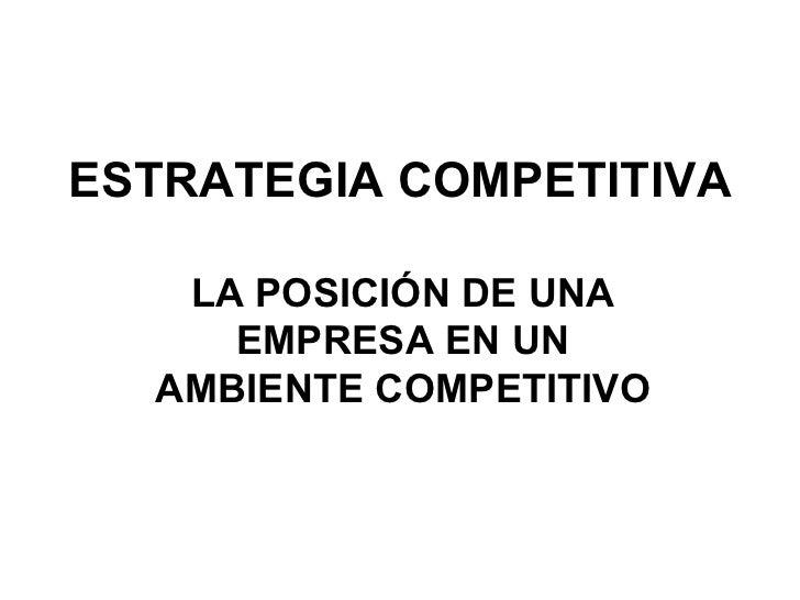 Ventajacompetitiva