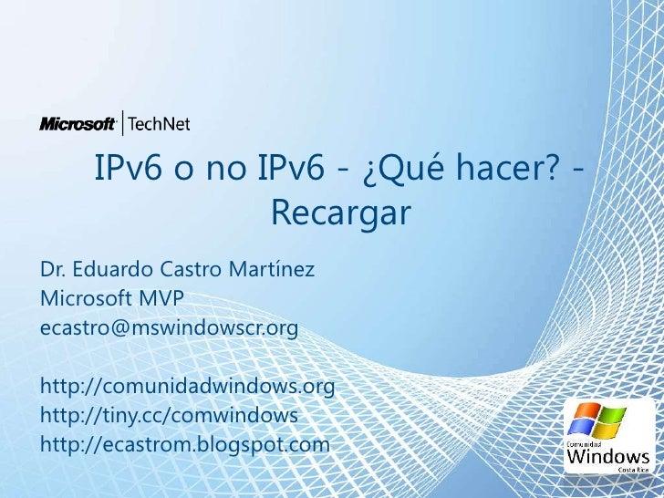 Ventajas de IPv6