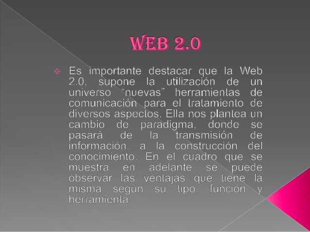 VENTAJASTipo               Función                                 HerramientaDe comunicación    Para compartir ideas e in...