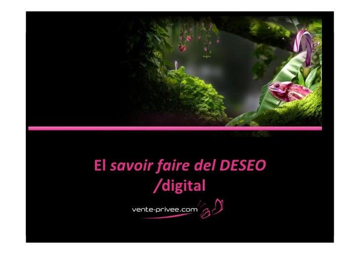 El savoir faire del DESEO              /digital