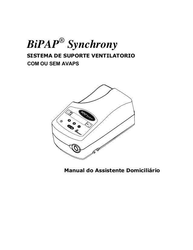 Ventilacao mecanica-bipap-synchrony i