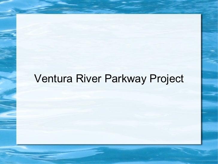 Ventura River Parkway Project