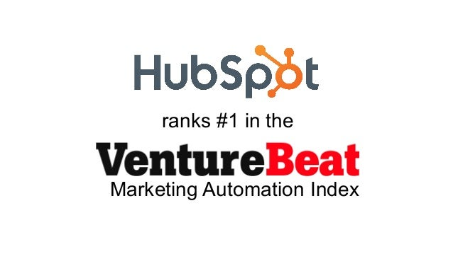HubSpot Ranked #1 in Marketing Automation by VentureBeat