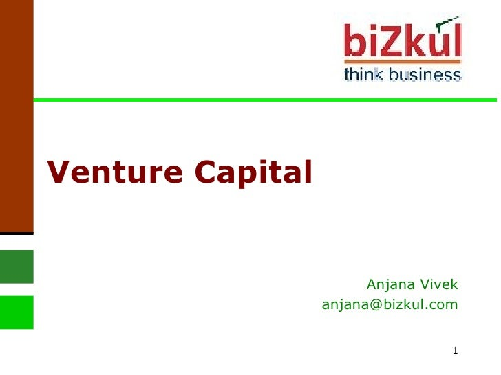 Venture Capital Anjana Vivek [email_address]