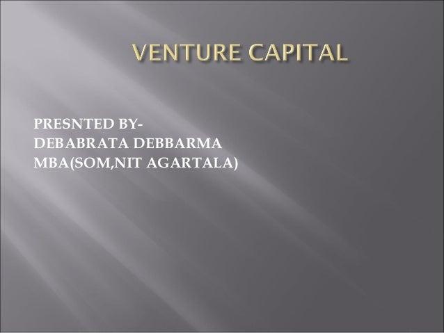 Venture capital debabrata