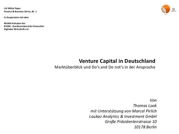 Venturecapitalindeutschland