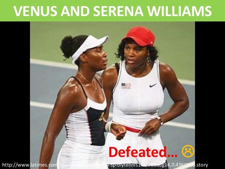 Venus Serena DEFEATED at the Olympics