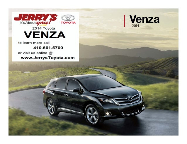 2014 Toyota Venza in Baltimore, Maryland