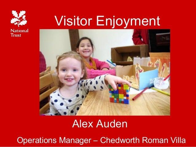 Visitor Enjoyment - Alex Auden